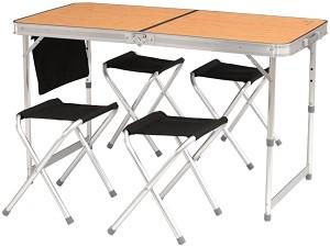 04d89558594 store.bg - Къмпинг маса с 4 стола